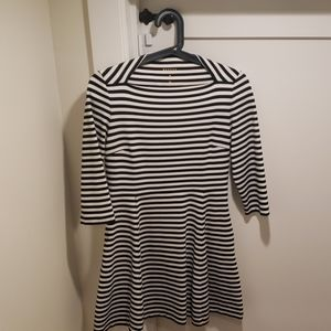 Kate Spade striped dress with pockets